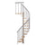 "Calgary Grey 47"" Diameter Extra Baluster Stair Kit"