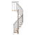 "Calgary Grey 55"" Diameter (2) Extra Baluster Stair Kit"