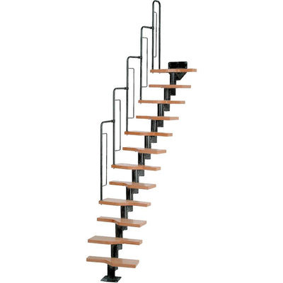 Dolle Graz Modular Staircase Kit - Black