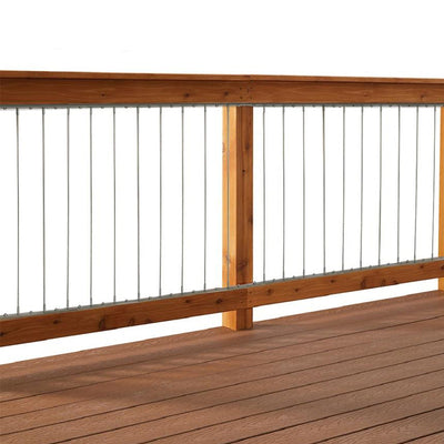 "Insta-Rail® 42"" Vertical Cable Railing System Kit"