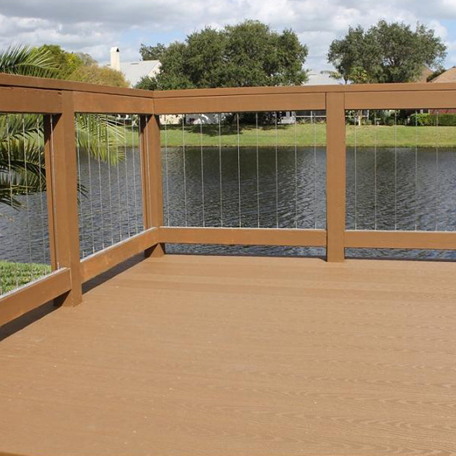 "NEW! Insta-Rail® Vertical Cable Railing System 42"" Kit"