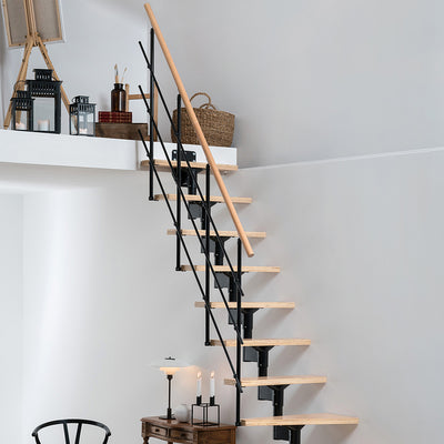 Dolle Lyon Modular Staircase Kit - Black
