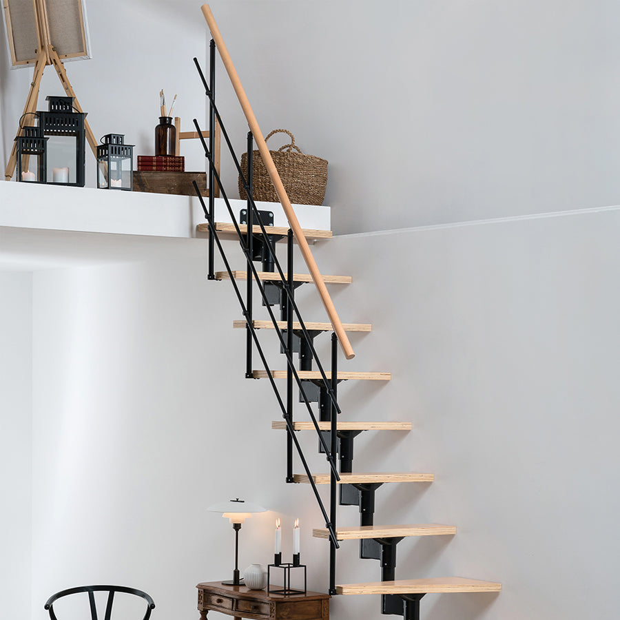 Lyon Modular Staircase Kit - Black