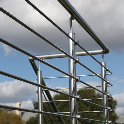 "Prova Stainless Steel Tube In-Fill for 42""H Railings"