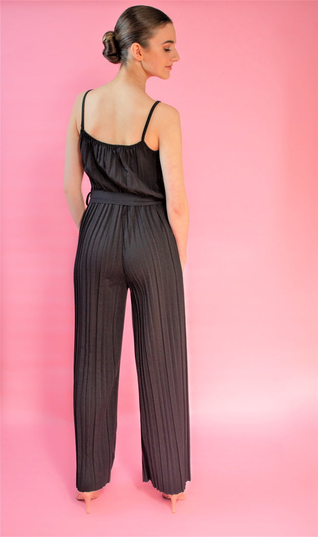 Pleated Belt Jumpsuit in six colours