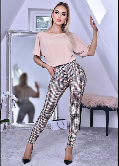 Lottie Mesh Pocket Trousers