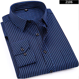 Dress Shirt for Business or Casual  Events, with Long Sleeves,  Color 2108