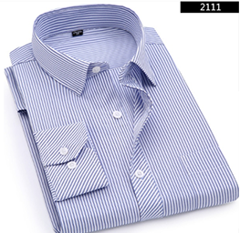 Dress Shirt for Business or Casual  Events, with Long Sleeves, Color  2111