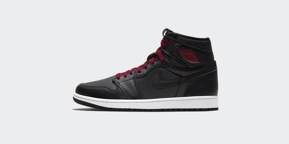 "Nike Air Jordan 1 Retro High OG ""Black/Gym Red Satin"""