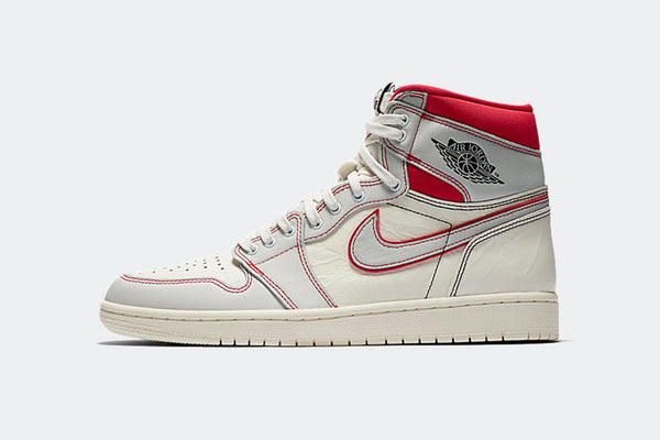 "Nike Air Jordan 1 Retro High OG ""Sail/University Red"""