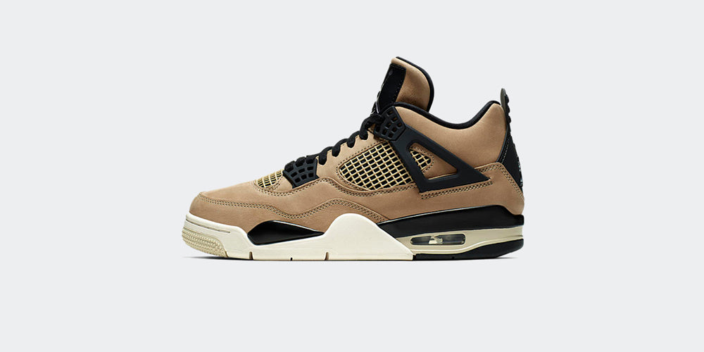 "Nike Womens Air Jordan 4 Retro ""Mushroom"""