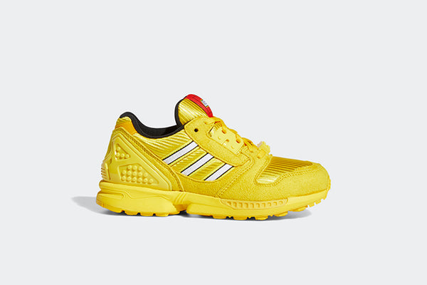 "Adidas ZX 8000 Junior x Lego ""Yellow Bricks"""