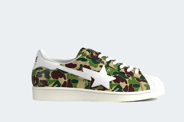 Adidas Superstar 80s x Bape