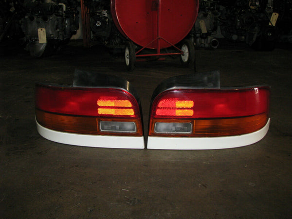 JDM Subaru Impreza WRX STI GC8 Wagon Rear Tail Lights Lamps