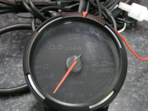 JDM Defi Metric Series Racer Turbo boost Gauge
