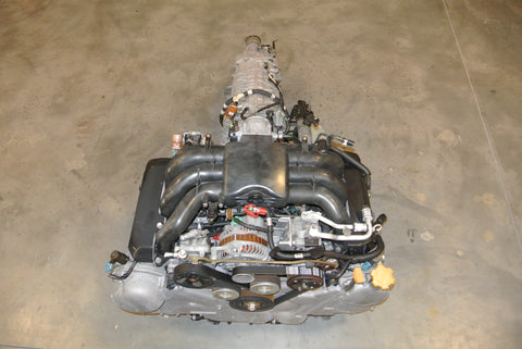 JJDM Subaru EZ30 Engine and 6 Speed AWD Manual Transmission  ECU H6 EZ30R Legacy