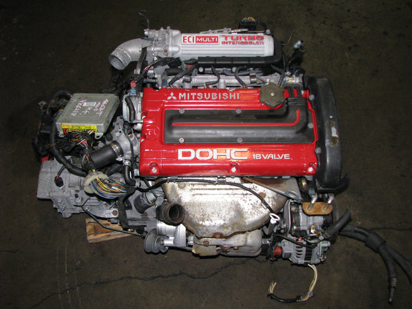 JDM Mitsubishi 4G63 Engine and AWD 5 Speed Transmission 6 Bolt Gallant VR4 4G63T