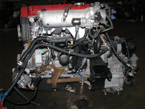 JDM Honda Integra B18C Type R Engine and 5 Speed LSD Transmission 97 Spec