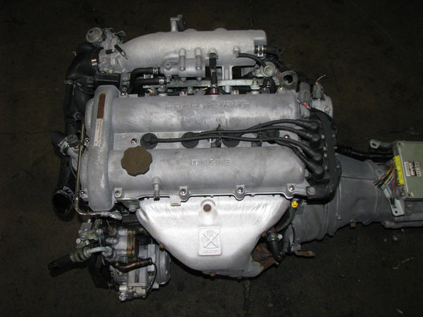 JDM Mazda Miata B6 Engine and 5 Speed Transmission 1990-1993 Miata MX5 1.6L