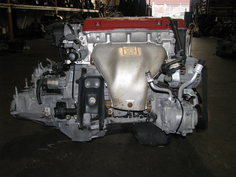 JDM Honda H22A Engine and 5 Speed LSD Transmission Euro R Prelude Accord T2W4