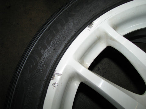 JDM Honda DC5 TYPE R Acura RSX White Wheels 17X7 Offset 60 5X114