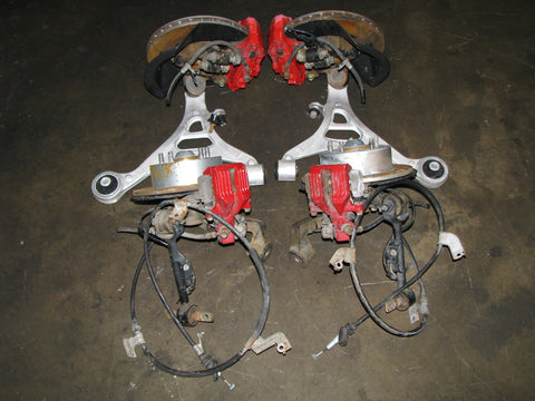 JDM Honda Integra Type R DC5 Brembo Brake Calipers and Spindles RSX K20A