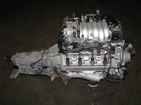 JDM Toyota 3UZ-FE VVTi V8 Engine and Transmission Lexus LS430 GS430 SC430