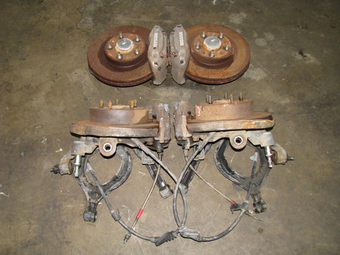 JDM Nissan S13 5 Lug Conversion Splindles GTR Calipers 240SX Silvia 180SX