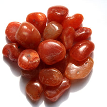 Load image into Gallery viewer, Carnelian Tumbled Crystal