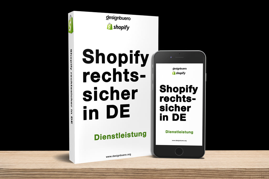 Shopify rechtssicher in DE