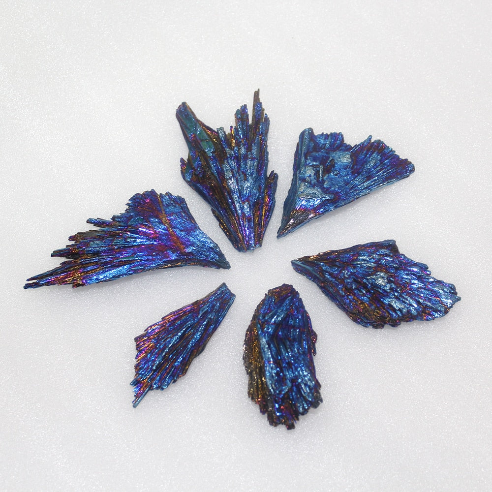Rainbow Jet Stone - Processed Quartz Crystal (30g - 40g)