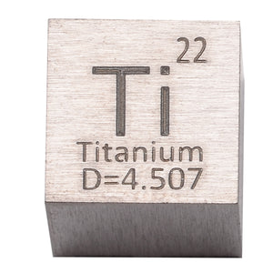99.9% Pure Titanium High Purity Cube Ti Metal