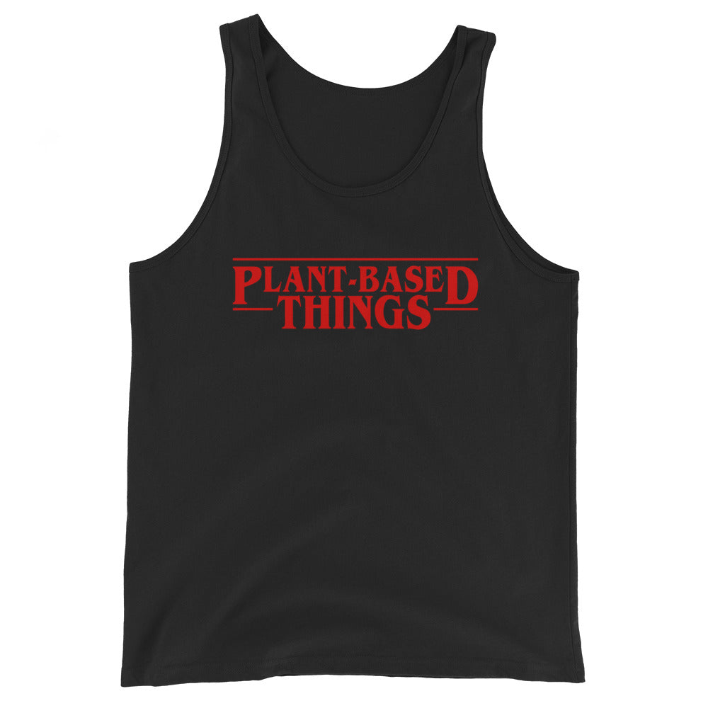Plant Based Things Unisex  Tank Top