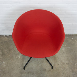 Hay about a chair rood