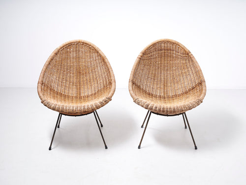 Basket easy chair