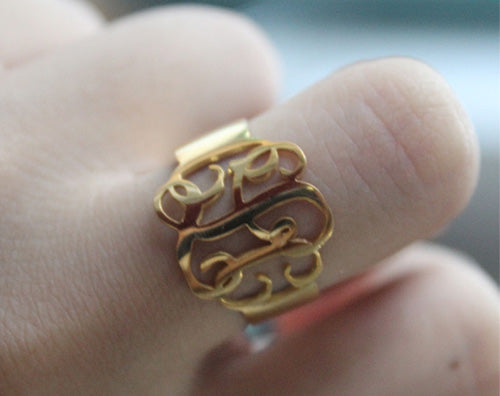 How to Maintain Initials Ring