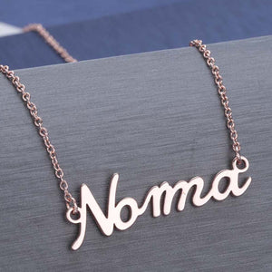 Custom name necklace Custom name necklace - dailypersonalized.comCJ Rose gold
