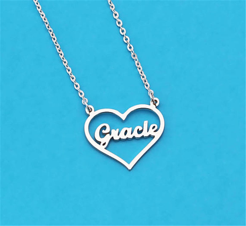 Personalized Love Name Necklace