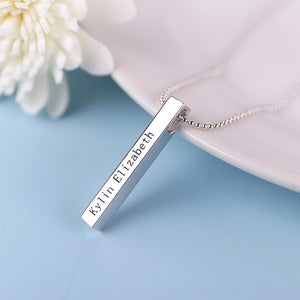 Personalized Wisp Bar Necklace Personalized Wisp Bar Necklace - dailypersonalized.comOnequarer Store