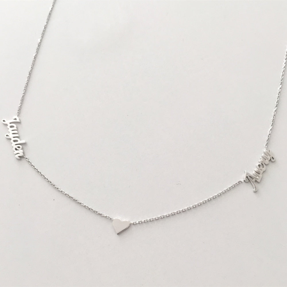 Personalized Sejiwa Name Necklaces Personalized Sejiwa Name Necklaces - dailypersonalized.comFJF Store 925 Silver Plated / 45CM