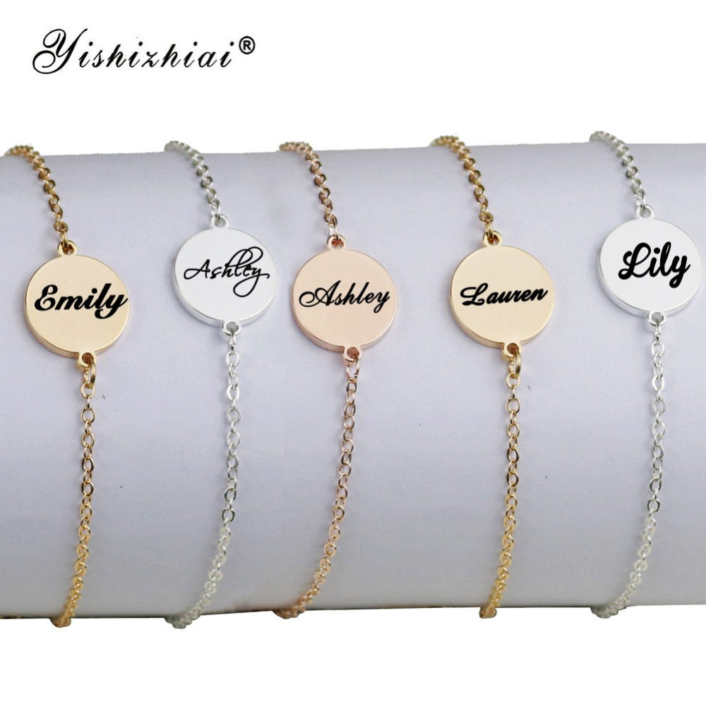 Personalized Muse Name Bracelet Personalized Muse Name Bracelet - dailypersonalized.comZSE Online Store