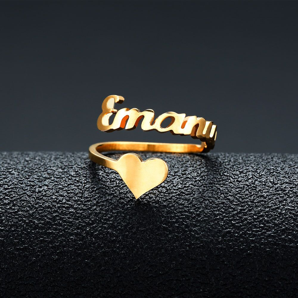 Personalized Ring Love Name Personalized Ring Love Name - dailypersonalized.comApril Fashion Jewelry