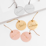 Personalized Engraved Name Earring Personalized Engraved Name Earring - dailypersonalized.comIcftZwe Store