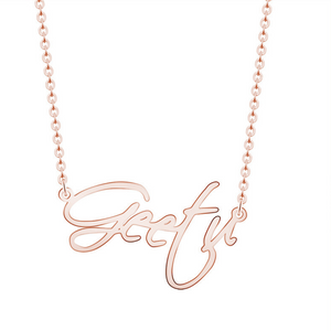 Personalized Script Name Necklaces Personalized Script Name Necklaces - dailypersonalized.comCAVSUAT Store