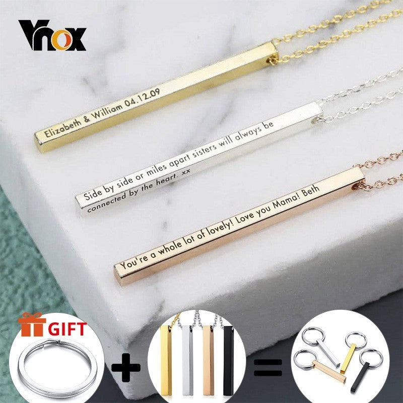 Personalized Lauren Name Necklaces Personalized Lauren Name Necklaces - dailypersonalized.comVNOX official store
