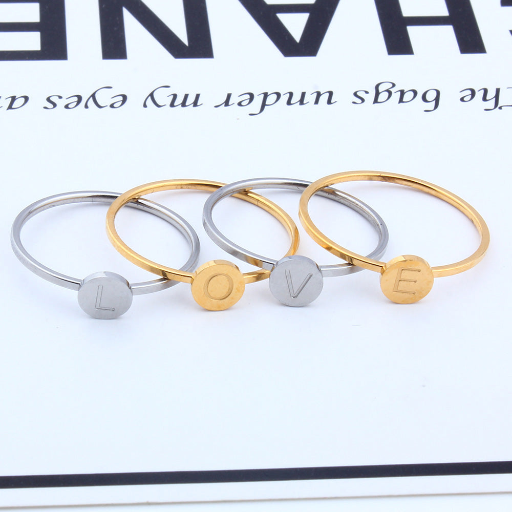Personalized Initial Name Rings Personalized Initial Name Rings - dailypersonalized.comZUUZ Shopping center Store