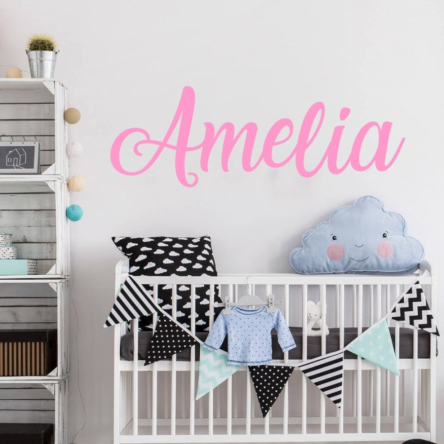 Custom Name Wall Decoration