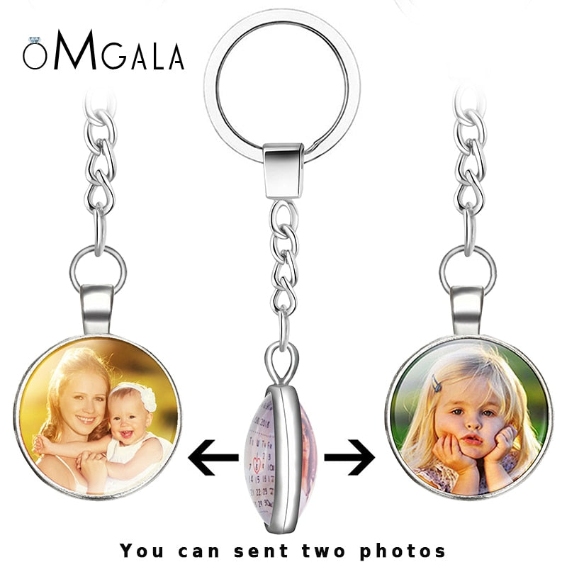 Double Side Personalized Keychain Double Side Personalized Keychain - dailypersonalized.comdailypersonalized.com
