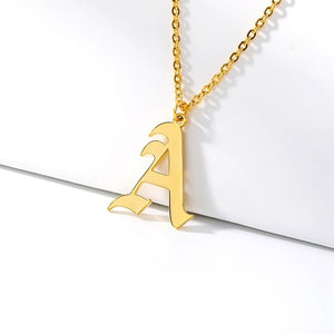 Initial Necklaces Initial Necklaces - dailypersonalized.comCAVSUAT Store A / Gold Plated