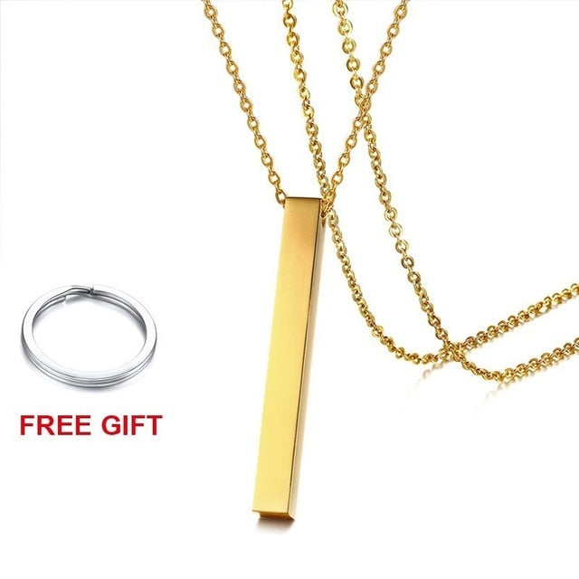 Personalized Lauren Name Necklaces Personalized Lauren Name Necklaces - dailypersonalized.comVNOX official store Gold-color